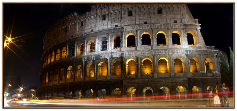 Roman Coliseum - The Eternal City